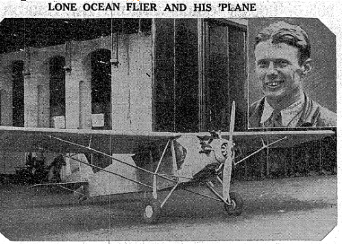 Irish Times image of the plane.