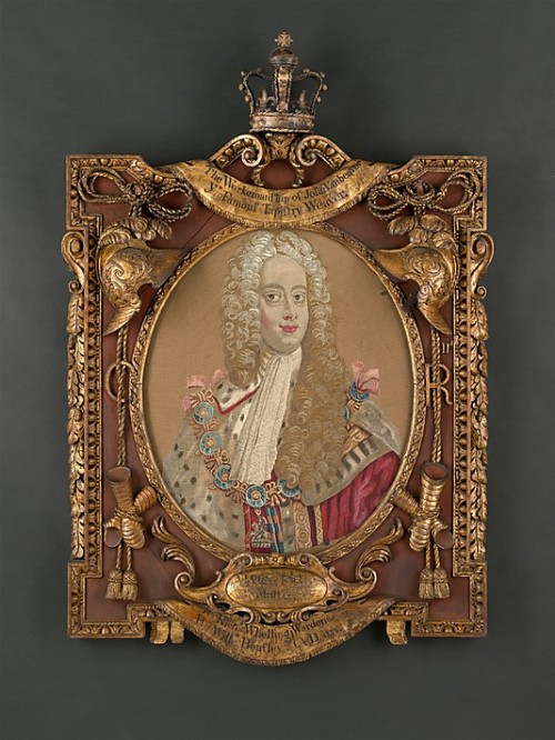 Portrait of George II. Originally in the Old Coombe, it can today be viewed at the Metropolitan Museum of Art. (Image Credit:http://www.metmuseum.org/)