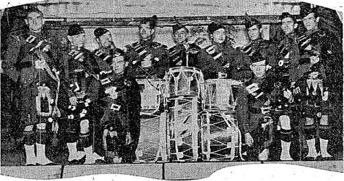 The band just prior to departing Ireland (Irish Independent)