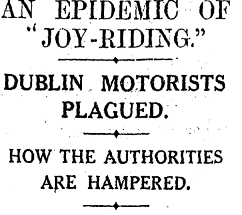 26 November 1930. The Irish Times.
