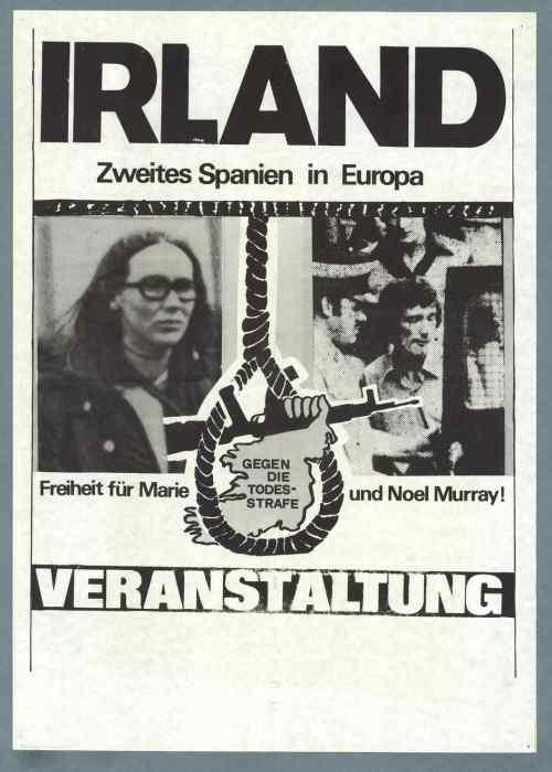 German Murrays poster, 1976