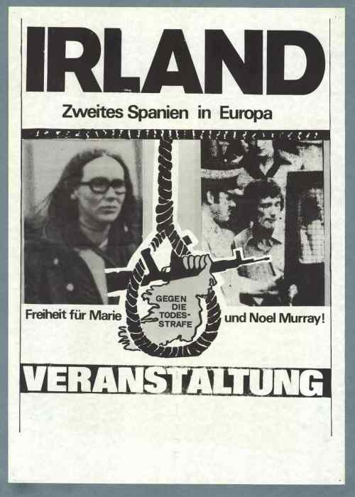 German Murrays poster, 1976
