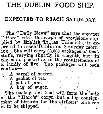 William Martin Murphy's Irish Independent reports on the Hare.