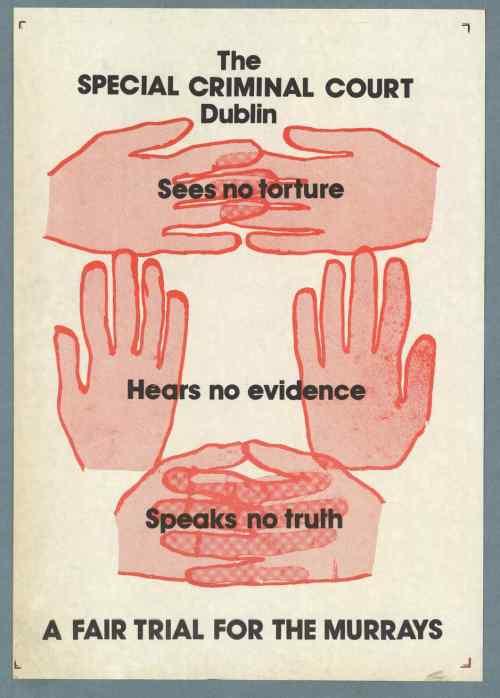 Irish Murrays poster, 1976