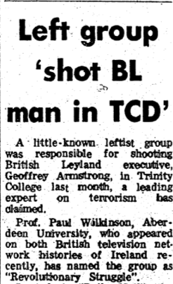 The Irish Press, 9 April 1981.