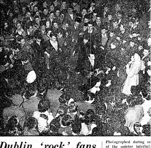 Dancing in the streets. Irish Press.1 March 1957.