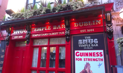'Temple Bar Snug', October 2013. Credit - Carax