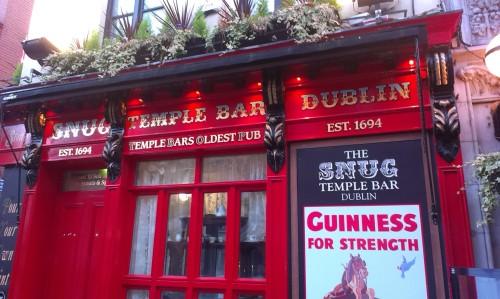 'Temple Bar Snug', October 2013. Credit - Carax