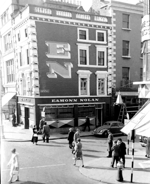 Eamon Nolans pub, 1950s. Renamed Rices in 1960. Credit - Dublinforum.net