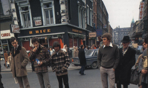 Rice's, South King Street. early 1980s. Dublin Insight Guide (1989)