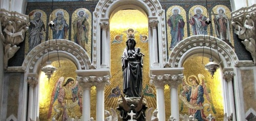 'Our Lady of Dublin' as the statue is known.