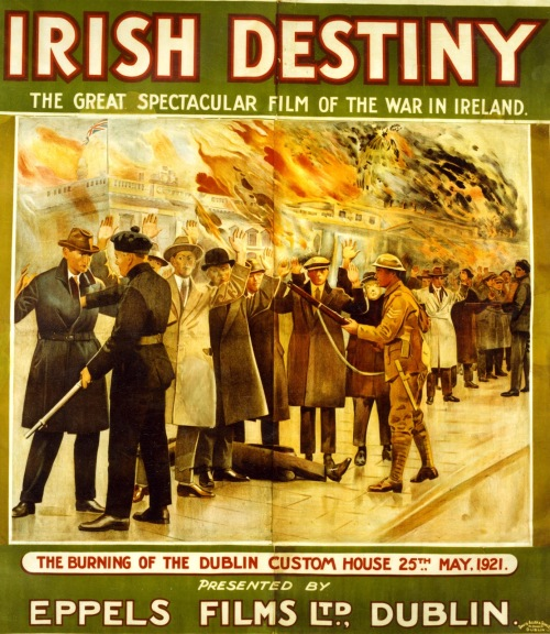 Film poster for Irish Destiny (1926). Credit - IFI blog