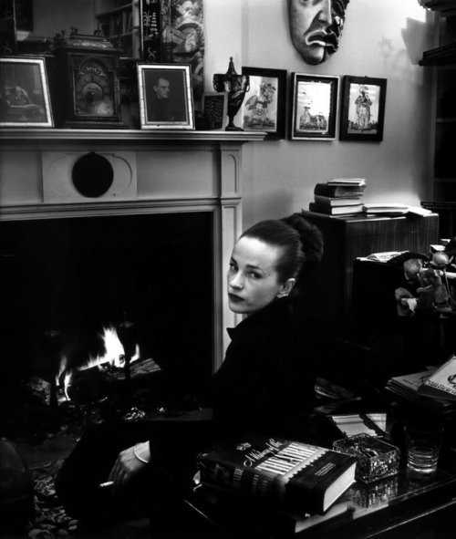 Maeve Brennan at home. Photo by Karl Blissinger. Credit - http://thelicentiate.com