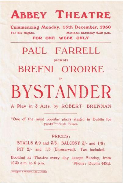 The Bystander (1930). Credit - yvonnejerrold.com