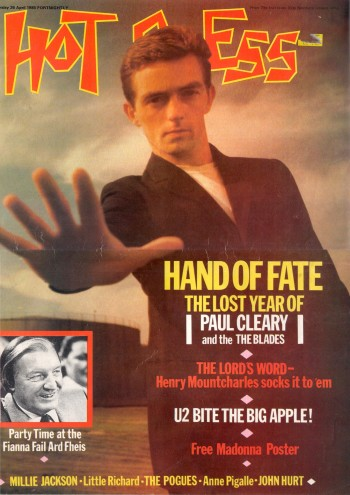 Paul Cleary, Hot Press, 1985.