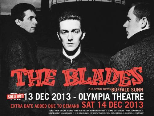 The Blades, The Olympia Theatre, December 2013.