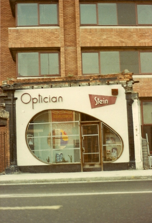 Stein Opticians, 1983. Flickr User - David Denny.