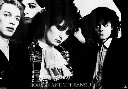 Siouxsie and the Banshees, who performed in Cabra in 1980.