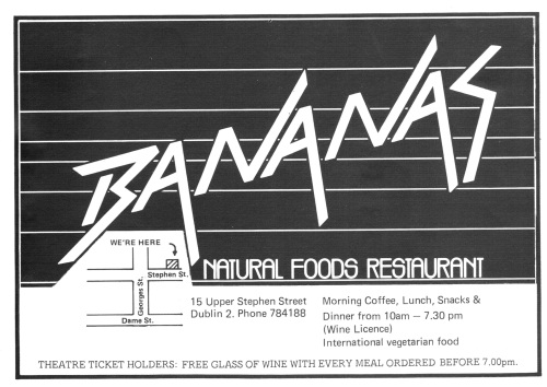 Bananas. Scanned by Sam (CHTM!).