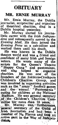 Ernie Murray (IT, 27 Jan 1973)