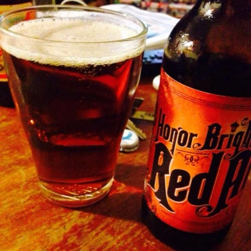 The 5 Lamps Dublin Brewery brought out an ale called 'Honour Bright' last year. Picture - untappd.com.