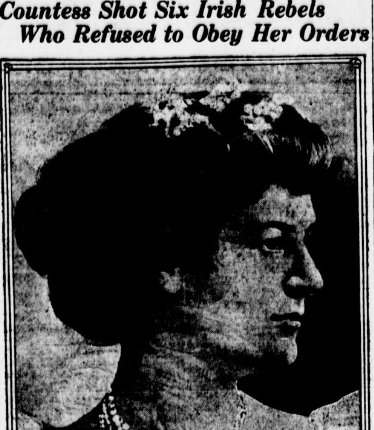 Allegations against the Countess repeated in a  New York newspaper.