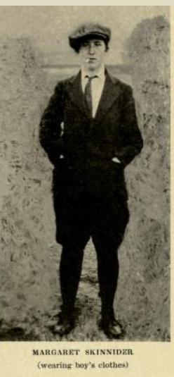 Image of Margaret Skinnider taken from 'Doing My Bit For Ireland' (New York,1917)