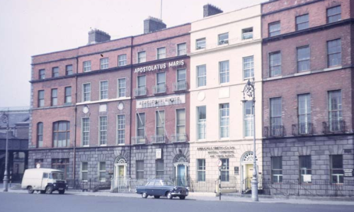 Beresford Place in 1967. Credit - Wendy.