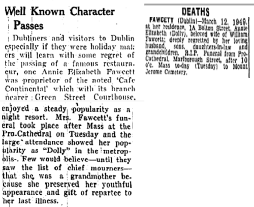 Longford (XXX) & The Irish Independent (15 March 1949)