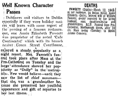 Longford (XXX) & The Irish Independent (15 March 1949)