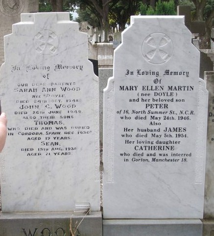 Wood family grave. Credit - ailishm49.