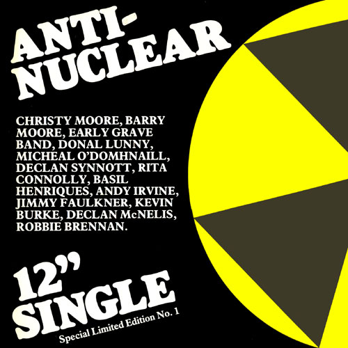 "Anti-Nuclear 12"" single (Image Credit:  http://www.theballadeers.com/)"