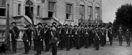 The Irish Citizen Army at Croydon Park.