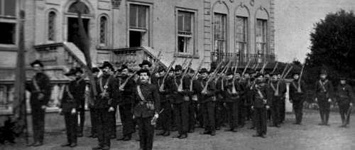 The Irish Citizen Army at Croydon Park.