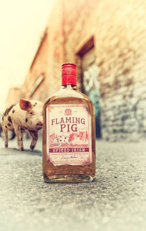 Image via https://www.facebook.com/flamingpigwhiskey