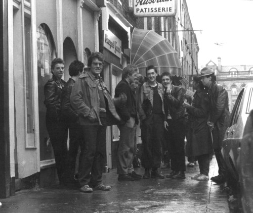 Black Catholics and friends. Advance Records by Stephen's Green. Credit - Patrick Brockleband via Eamon Delaney's blog