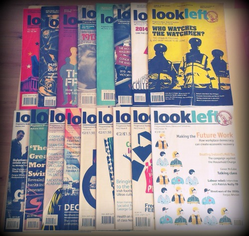 Issues 2 - 18 of LookLeft. Credit - Sam (CHTM!).