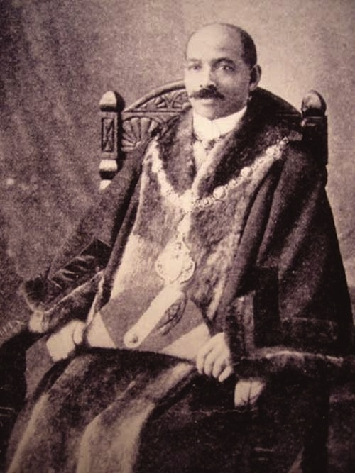 John Archer c. 1913. Credit - http://medievalpoc.tumblr.com