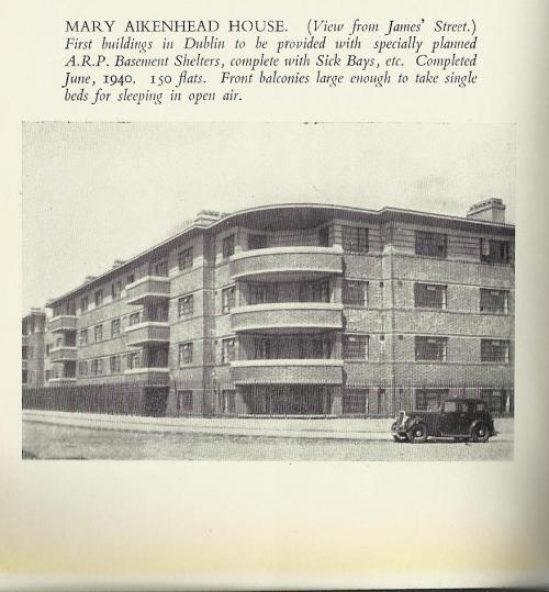 Mary Aikenhead House, taken from the Lord Mayor's Guidebook to Dublin (1942)