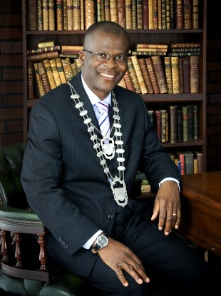 Rotimi Adebari, Ireland's first Black Mayor. Credit - theJournal.ie