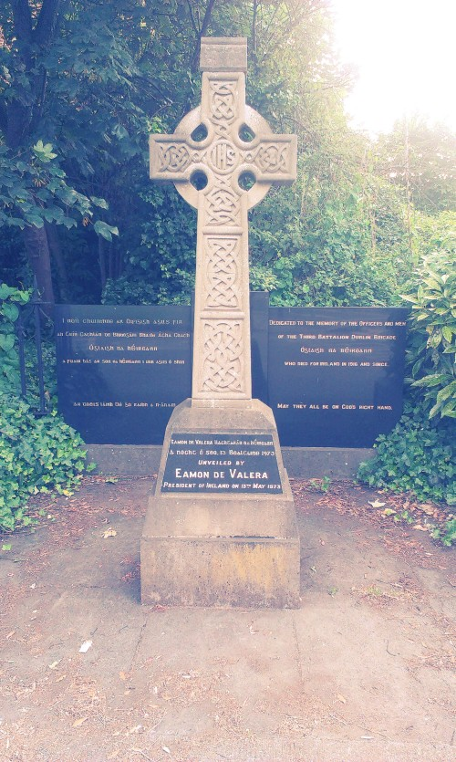Ballsbridge IRA memorial. Credit - Sam
