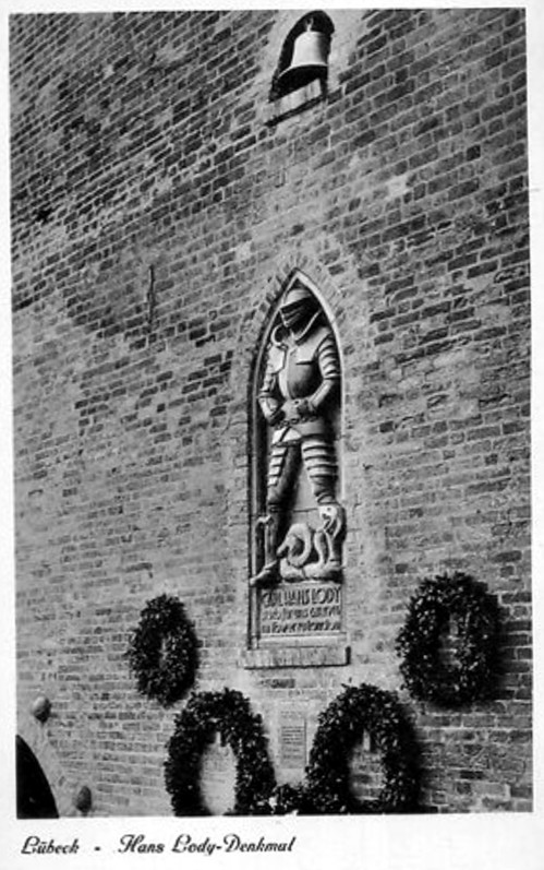 Lody memorial pictured in 1938. Credit - Wikipedia.