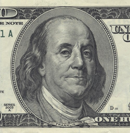 Benjamin Franklin as he appears in the wallets of Americans (Wiki Commons)