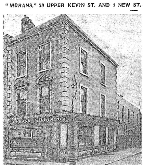 Morans pub. Credit - Irish Independent, 8 March 1947.
