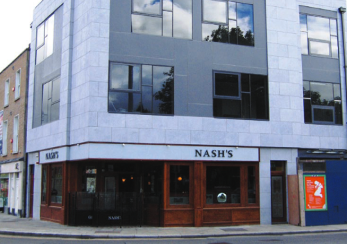 Nash's, 2010. Credit - morrisseys.ie.