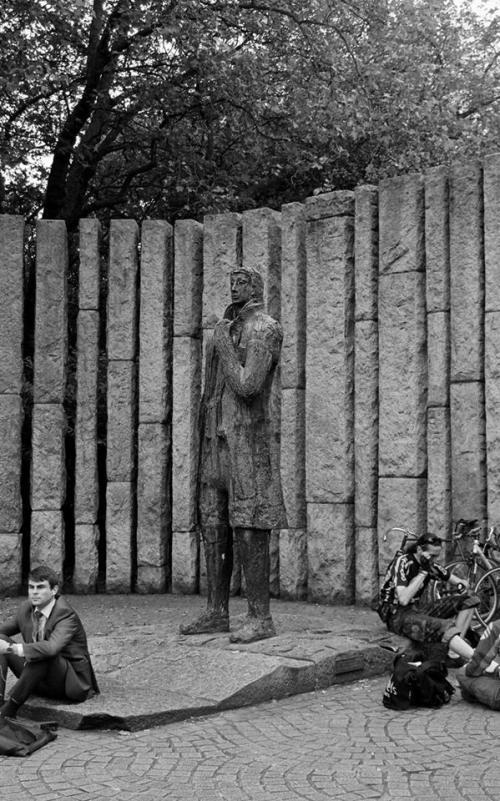Theobald Wolfe Tone memorial, Stephen's Green.
