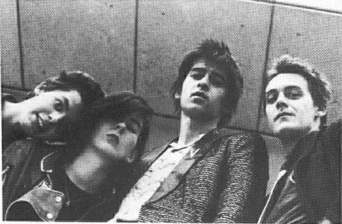 The New Versions: Bibby, Moylett, Kiang & Byrne in 1978. Credit - Irishrock.org