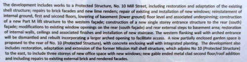 Part of the planning permission notice. Credit - Sam (2014)