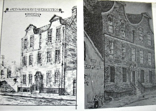 Drawing of 10 Mill Street. Uploaded onto Archiseek by Anon.