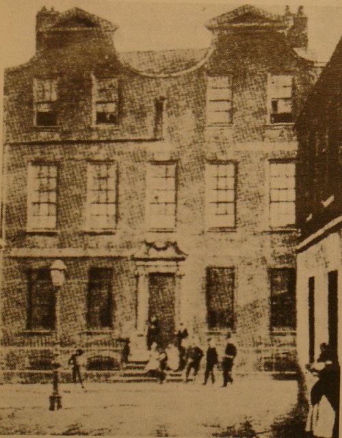 An old image of no. 10 Mill Street. Credit - Archiseek